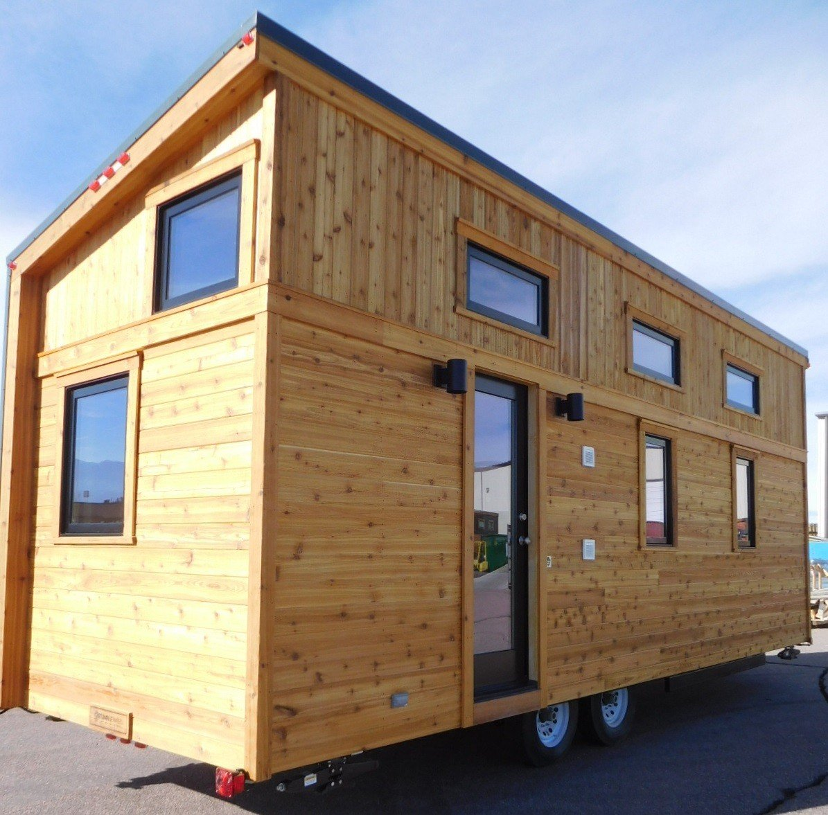 can tag home cabin prefab warm arched for under cabins vacation prefabricated a lead inhabitat innovation green texas provide design architecture in