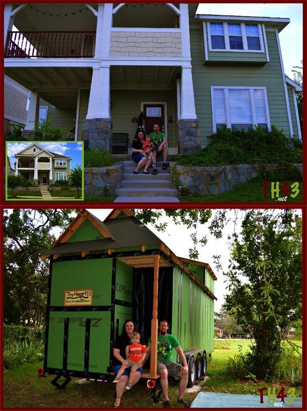 Tiny House For Three Tumbleweed Houses