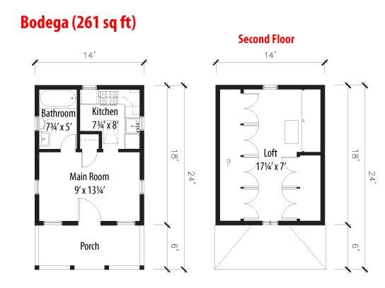 Bodega Study Plans Tumbleweed Houses