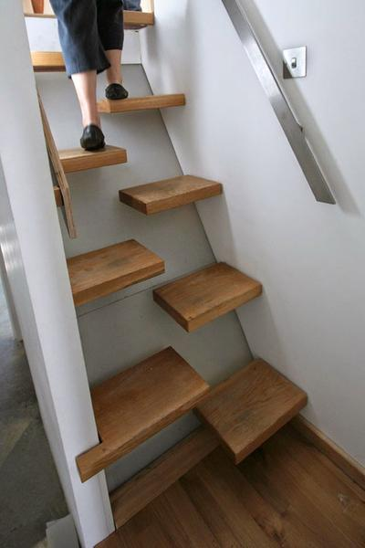 Photo Credit: Stylish Eve. 4). Folding Staircase