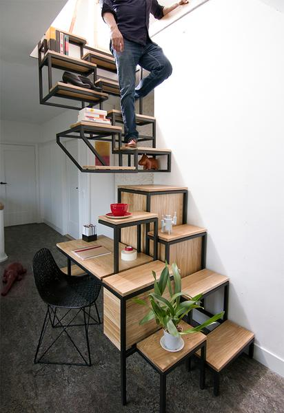 Tiny House Stairs alternate tread stairs seriously considering these to connect with us and our community tiny house 5 Creative Staircase Ideas For Tiny House Rvs