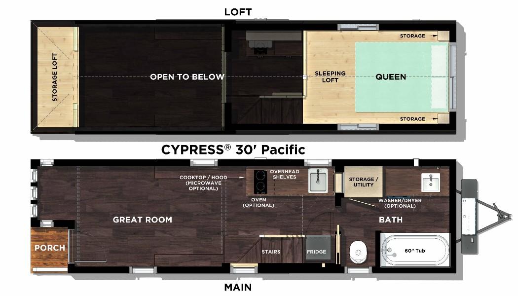 Cypress Overlook Floor Plan