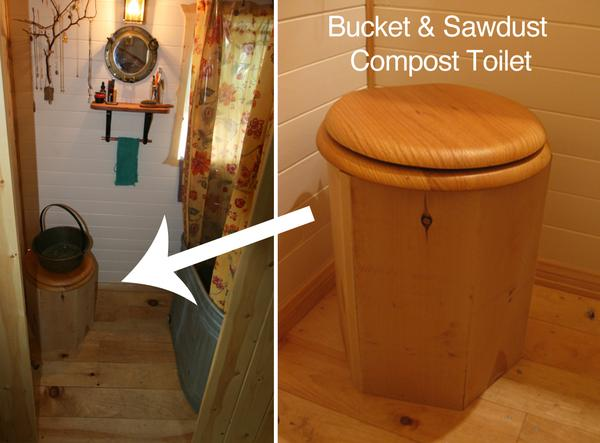 Composting Toilets - DIY Bucket - Tumbleweed Houses