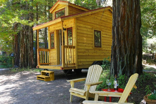 tiny house blog visits the tumbleweed vacation rental