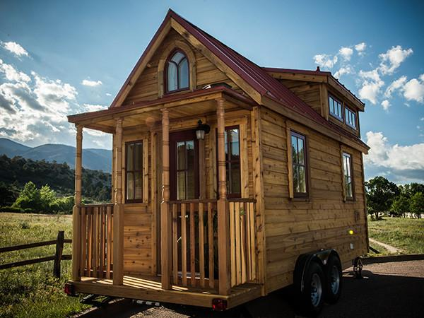A Tumbleweed Elm w/ a Gable Roof Shape u0026 Dormers & Roof Shapes for Tiny House RVs - Tumbleweed Houses memphite.com