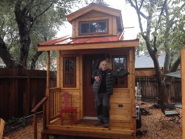lloyd kahn who shelters in bolinas stopped by our tumbleweed office and we discussed the upswing in tiny house interest whats new is old or whats old - Tumbleweed Homes