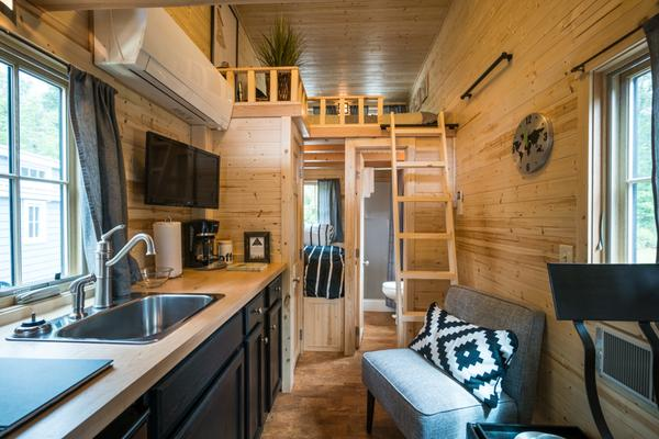 tiny houses photo gallery - Tumbleweed Tiny House Interior