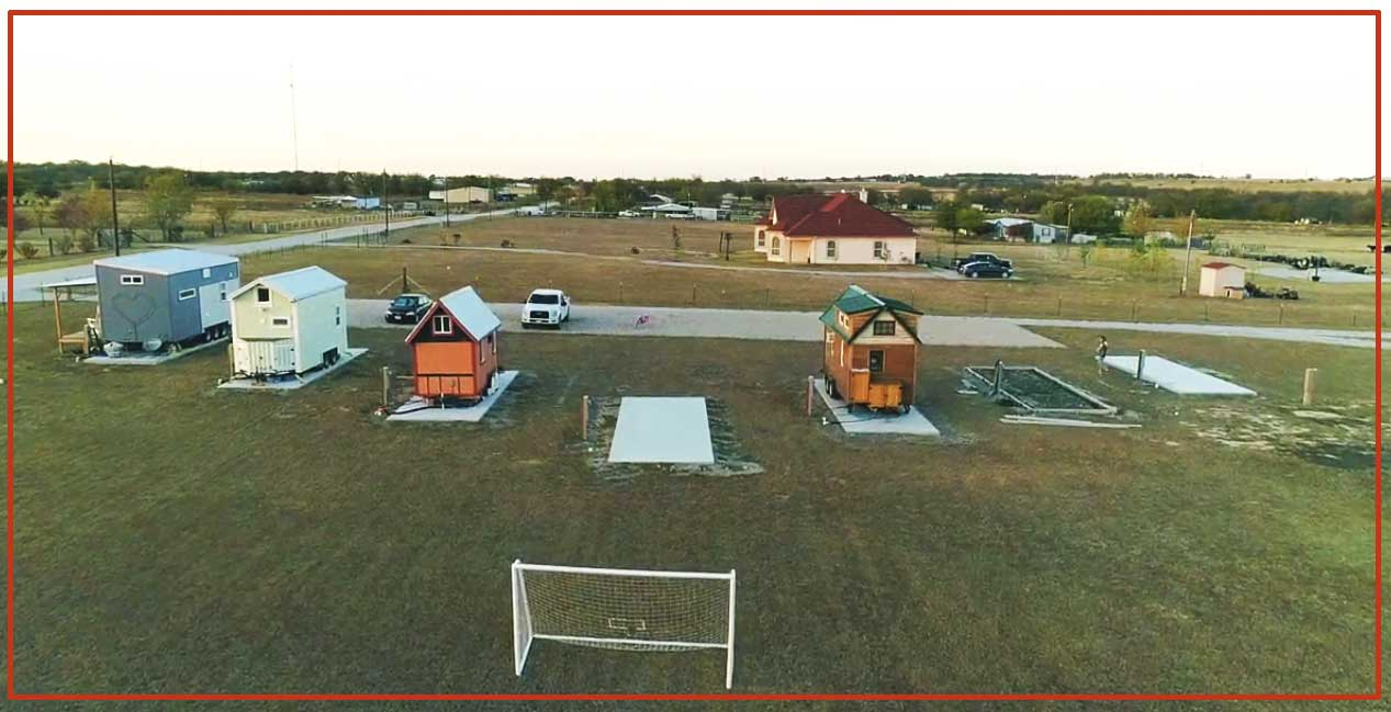 Tiny Lots in North Texas