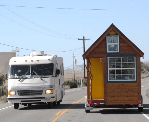 Tiny House Versus RV