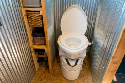 RV Composting Toilet