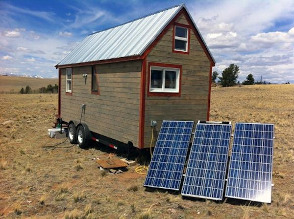 Off grid power Gas and Solar generators for Tiny Houses on the go