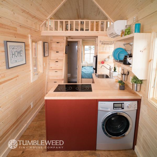 Tumbleweed Homes fencl tiny house colorado for sale 10 Top Laundry Units For Tiny Homes