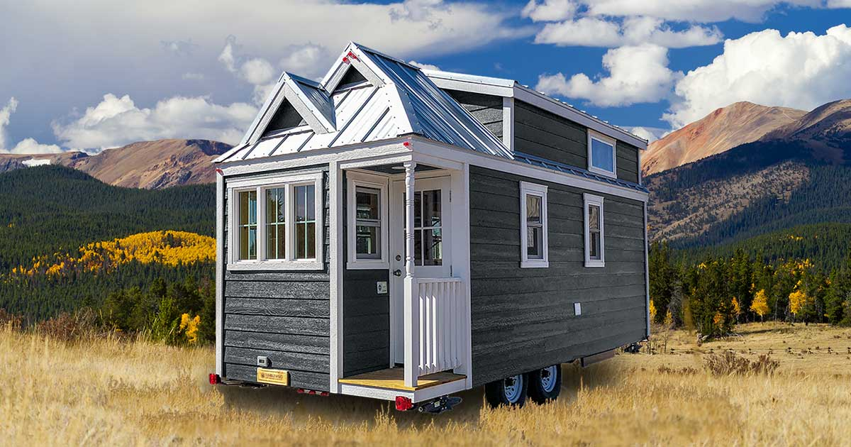 Tumbleweed Tiny House Company Build It: CYPRESS® 20' Overlook For Sale