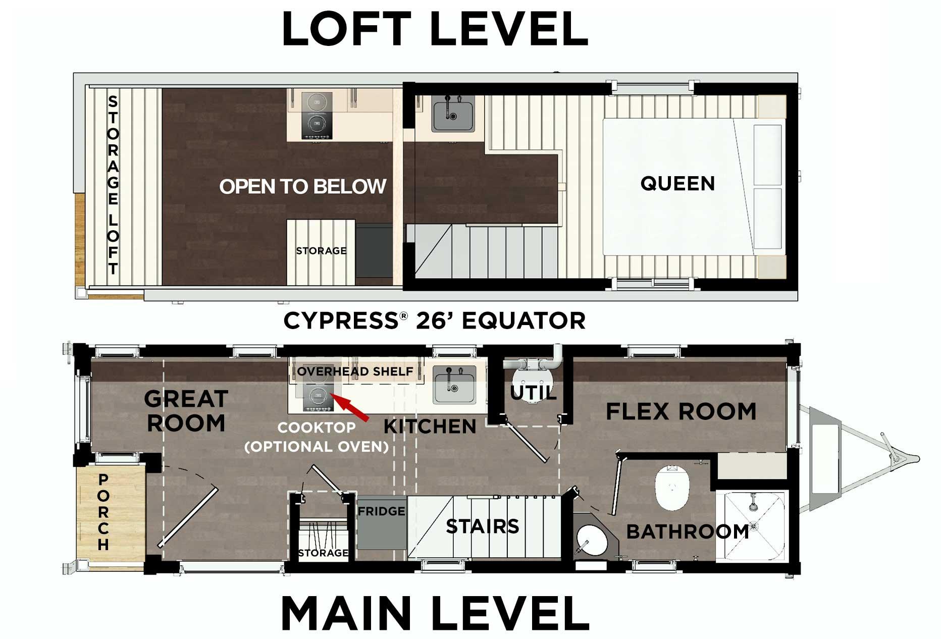 Cypress Equator Floor Plan