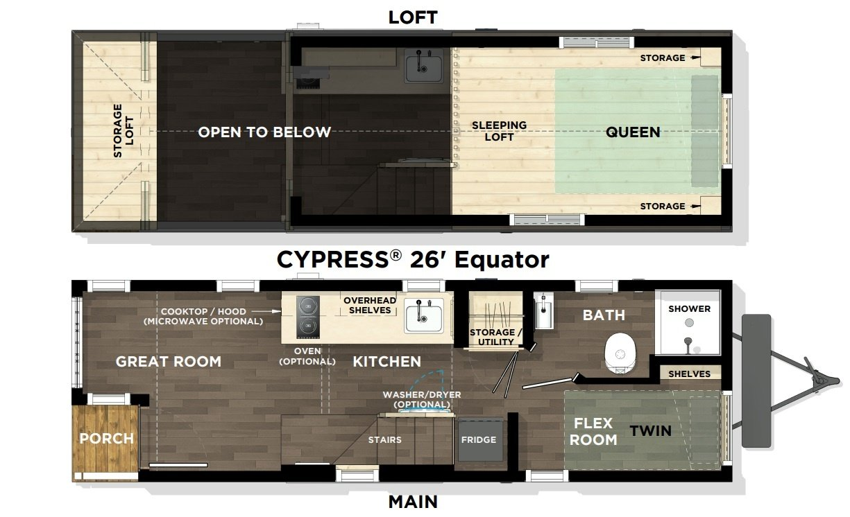 Cypress Equator Floor Plan