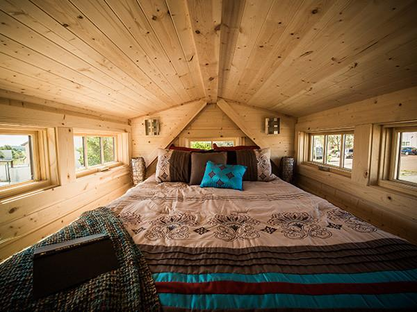 The advantages of tiny house dormers tumbleweed houses - Tumbleweed tiny house interior ...