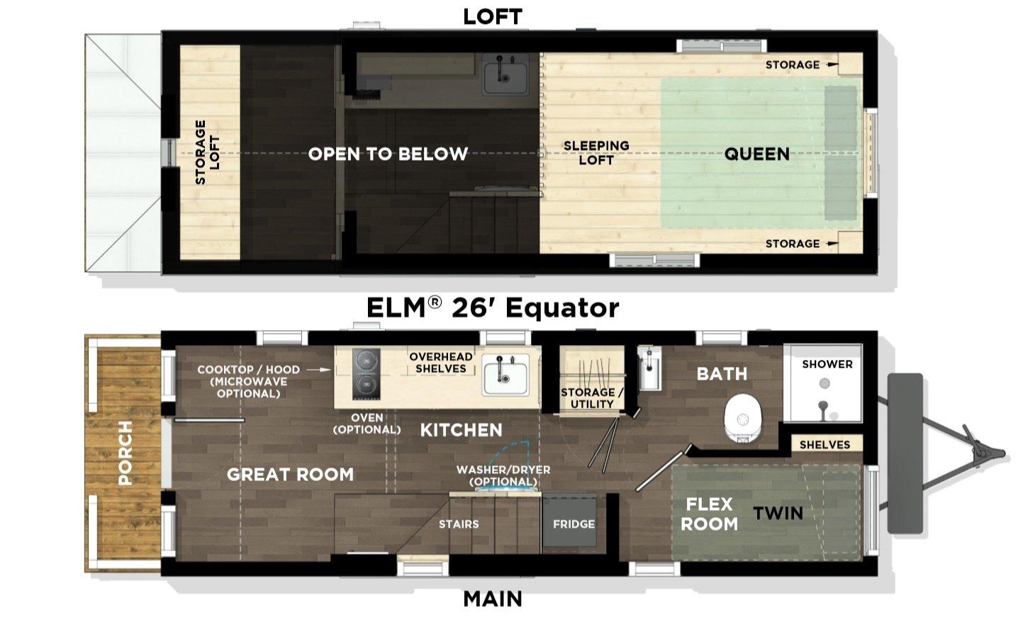 Elm Equator Floor Plan