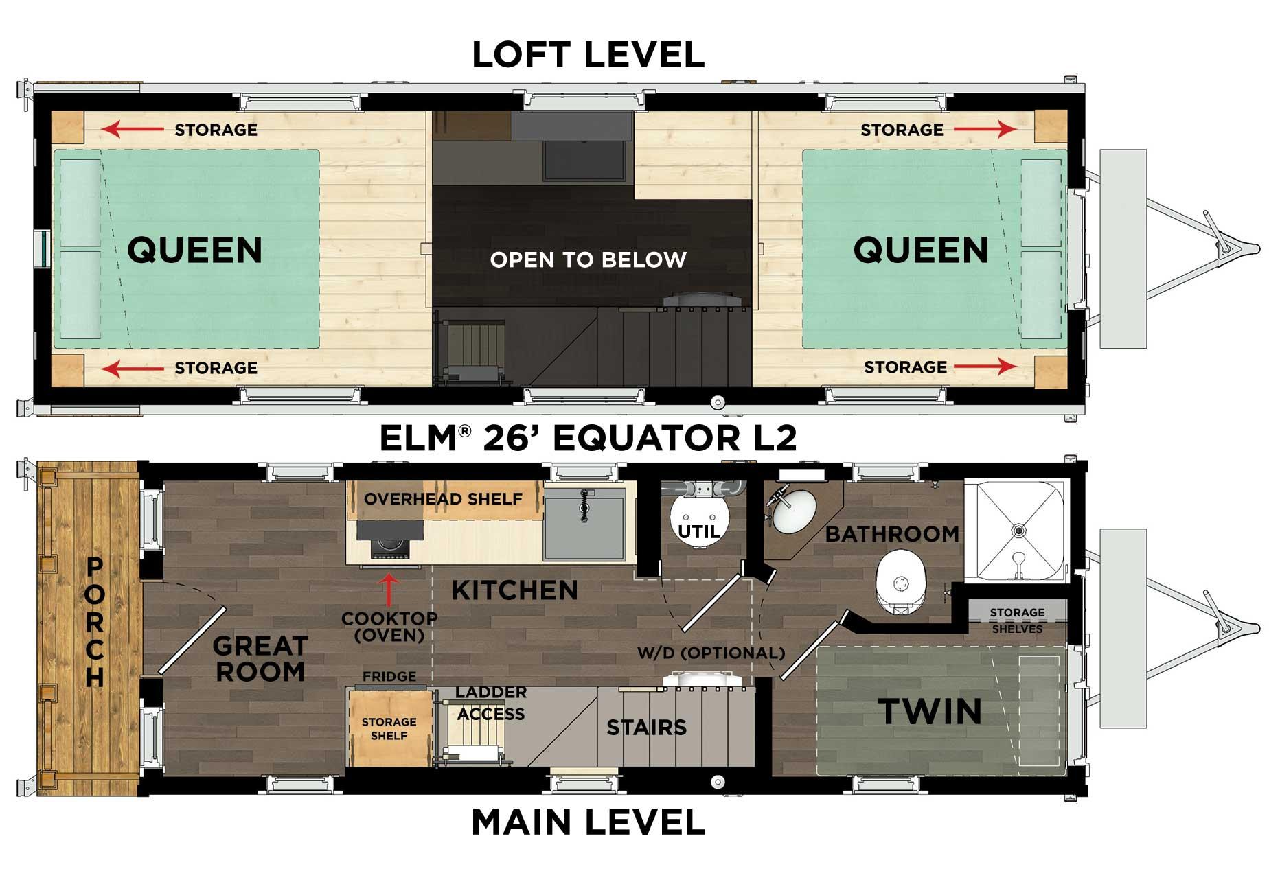 Elm® Equator L2 Floor Plan