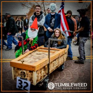 Annual Emma Crawford Coffin Races: Team Tumbleweed