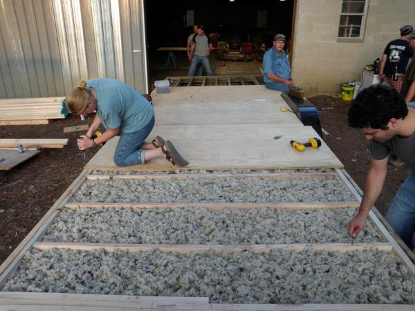 Insulation what to consider tumbleweed houses for Loose fill fiberglass insulation