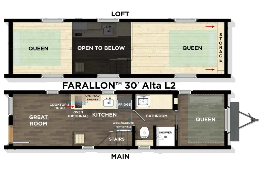 FARALLON™ 30′ Alta L2 Floor Plan
