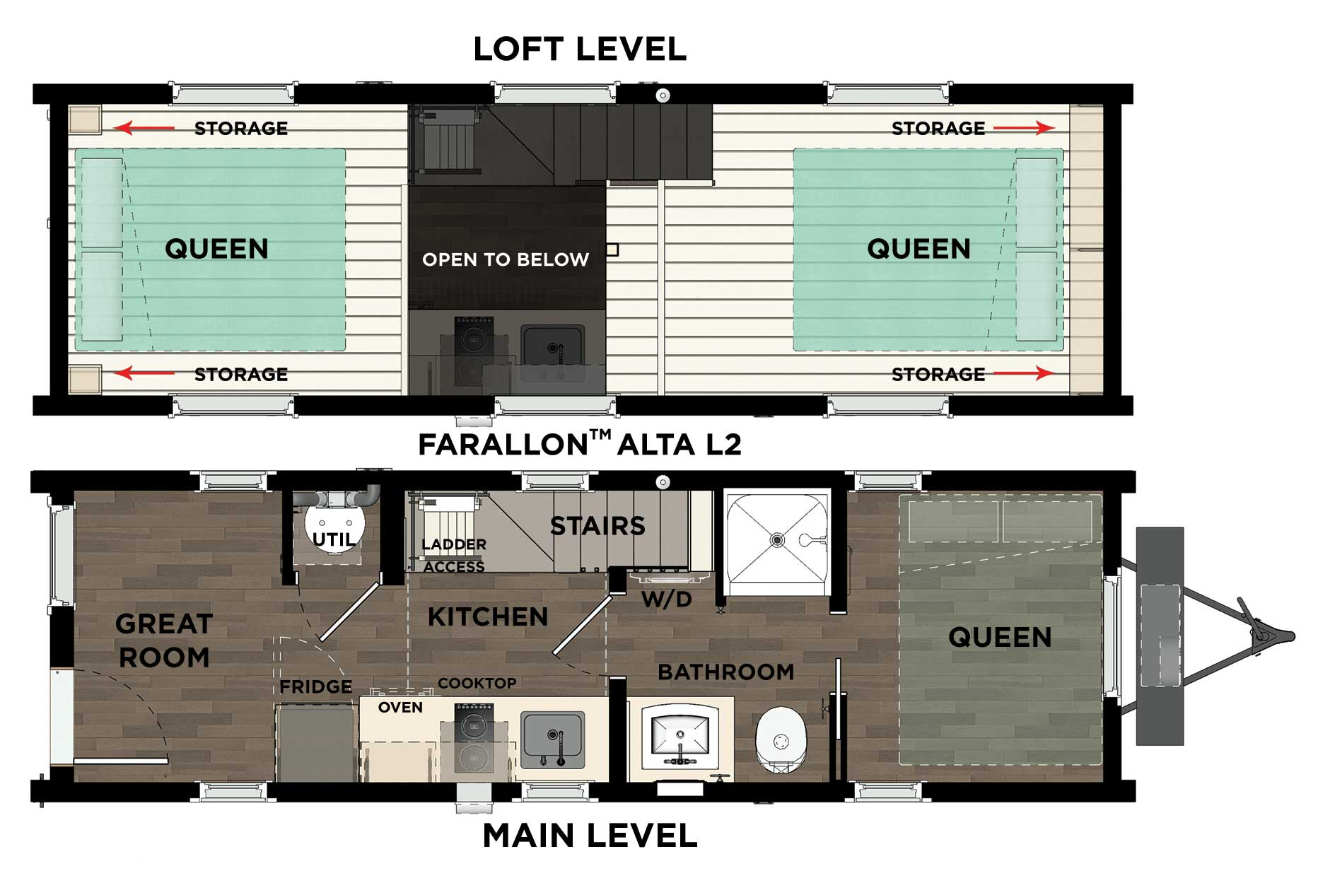 Farallon Alta L2 Floor Plan