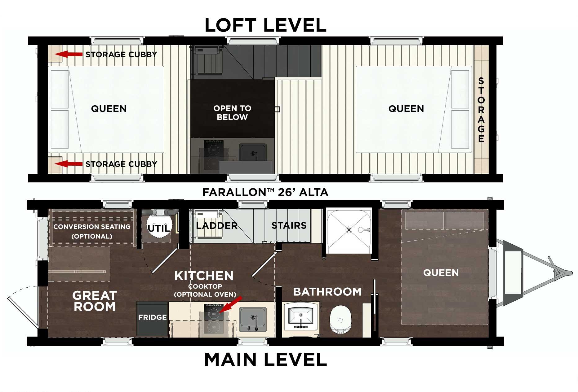 Farallon Alta L2 Floor Plan