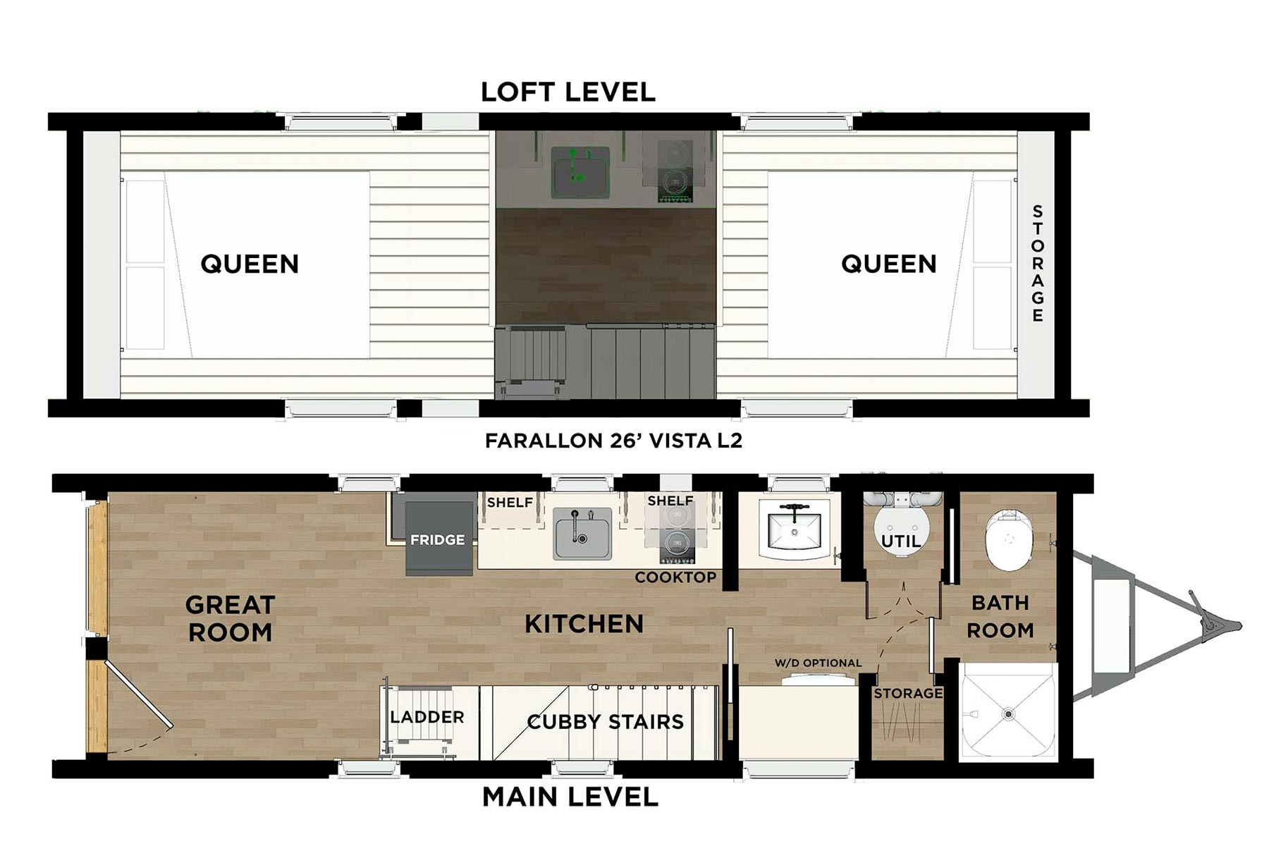 FARALLON™ 26 Vista Floor Plan