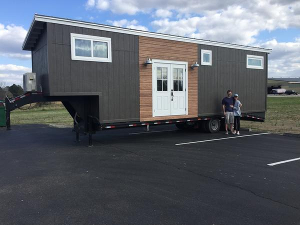 Fifth Wheel Tiny House RV designed by a Young Couple Tumbleweed