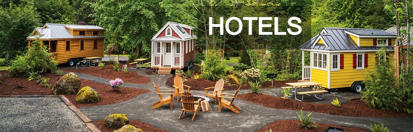 Tiny House Hotels from Tumbleweed Tiny House Company