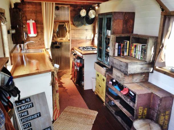 Declutter your Tiny Kitchen 10 Tiny House Tricks to clear your