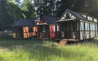 Bavarian-themed Tiny houses