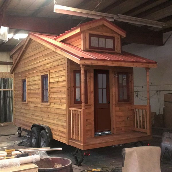 Tumbleweed Homes small house blueprints great tiny houses company plans tumbleweed tiny house company plans home Linden Exterior 600