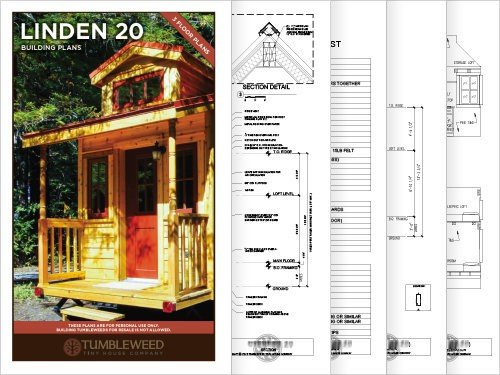 Linden Plans - Tumbleweed Tiny House