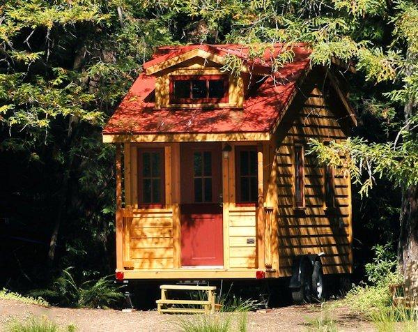 Peak View Park Woodland Park CO Tumbleweed Houses
