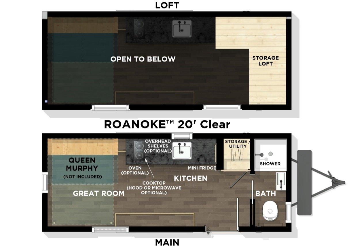Roanoke Alta Floor Plan