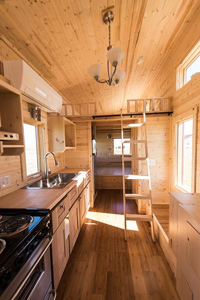 roanoke tumbleweed tiny house - Tumbleweed Tiny House Interior