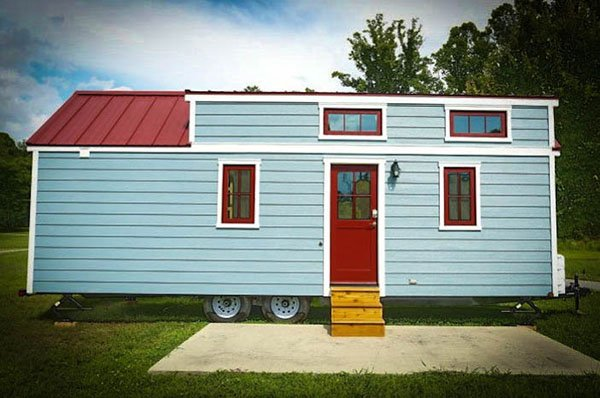 Micro village in flat rock nc tumbleweed houses Tiny house hotel near me