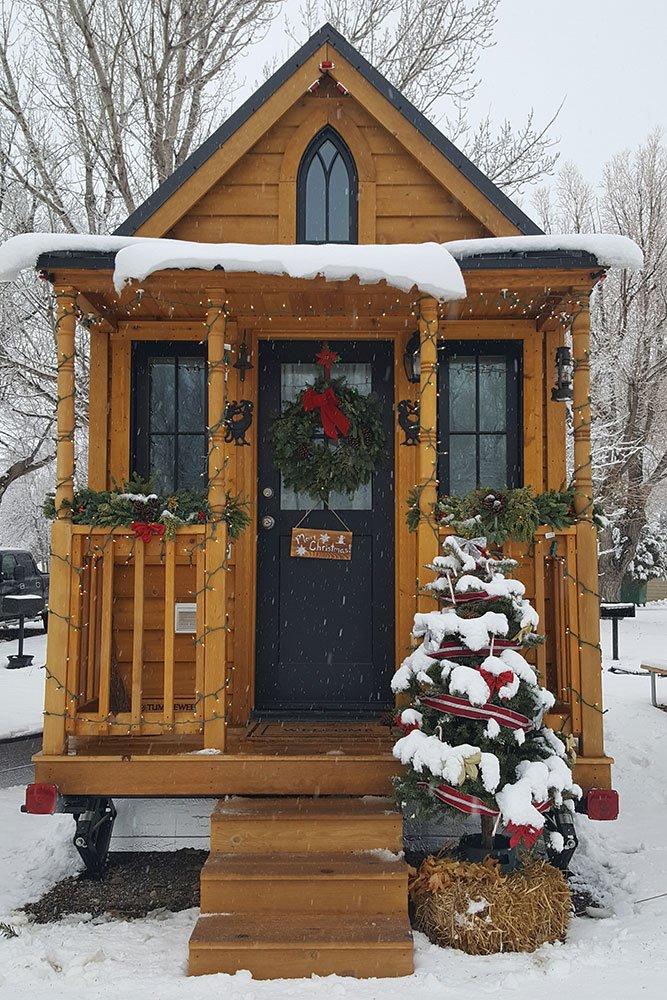 Tiny House Holiday Photo Album