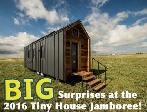 Tumbleweed at the 2016 National Tiny House Jamboree
