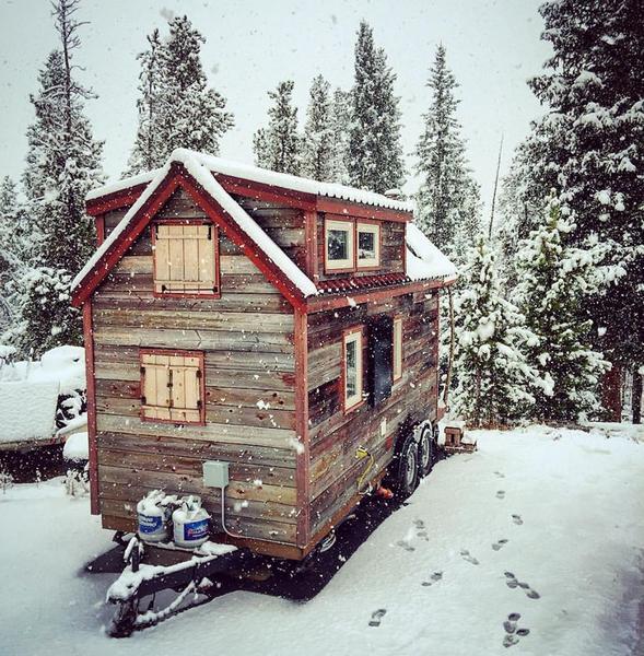 Skirting your Tiny House RV - Tumbleweed Houses
