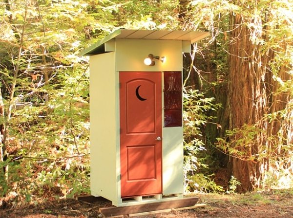 My First Experience with a Composting Toilet - Tumbleweed Houses