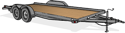 Dovetail Trailer