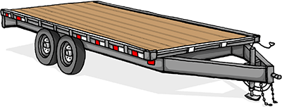 Deck-Over Trailer