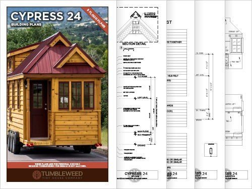 cypress 24 building plans - Tumbleweed Tiny House Plans