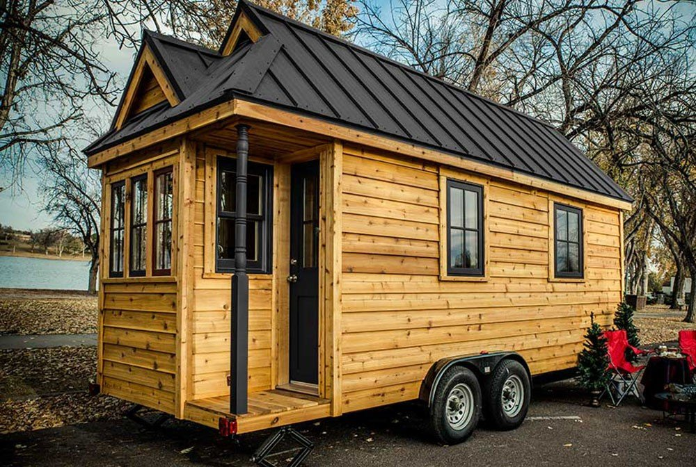 Little Houses For Sale weller tiny house shell for sale for just 19kadorable Tumbleweed Cypress 20 With Side Door Option