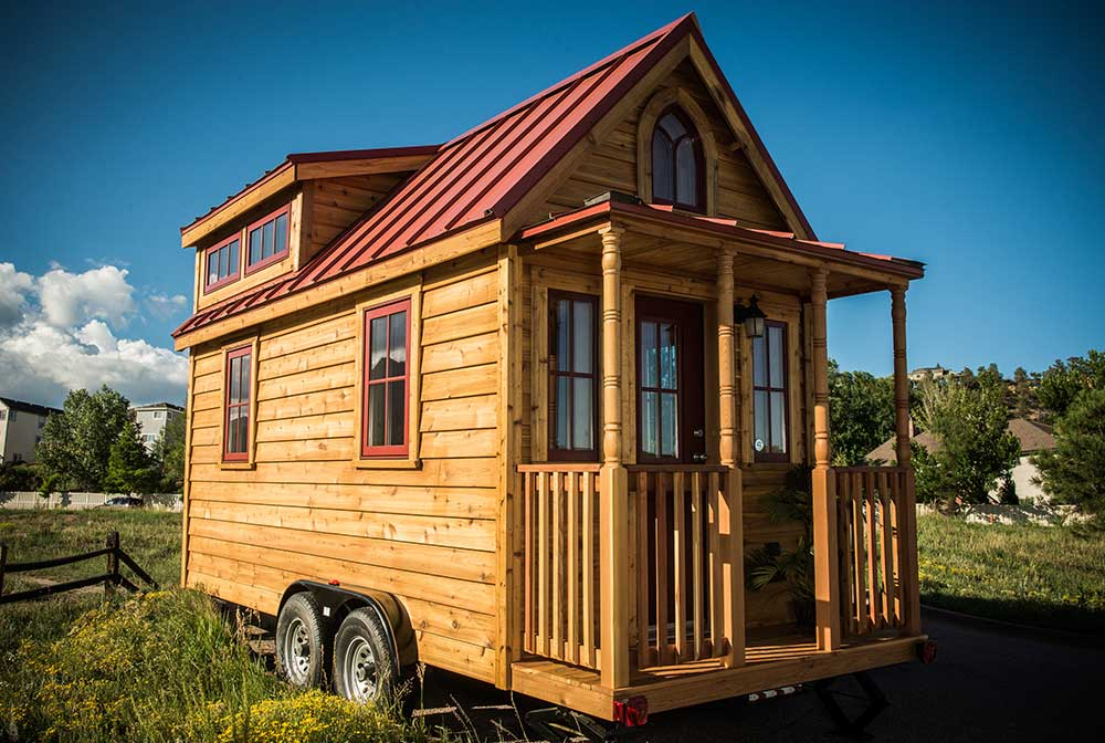 Amazing Tumbleweed Tiny House Elm