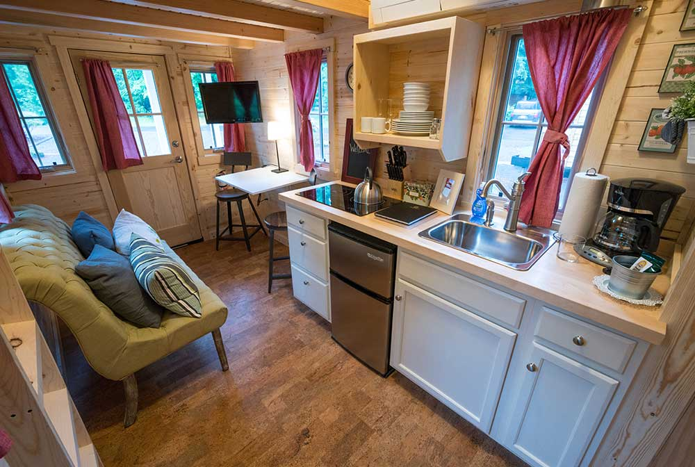 tumbleweed tiny house elm - Tumbleweed Tiny House Interior