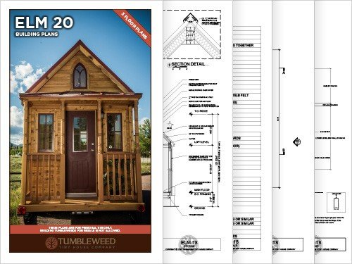elm 20 building plans - tumbleweed houses