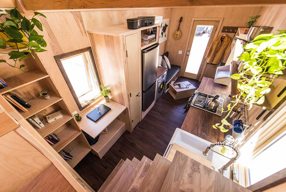 tumbleweed tiny house farallon - Tumbleweed Tiny House Interior